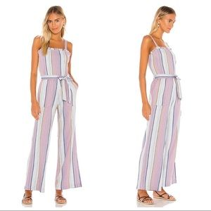 Chaser Striped Sleeveless Jumpsuit Size XS NWT